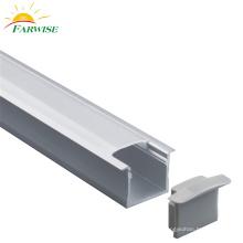 Bureau de profil en aluminium de lumière pendante linéaire