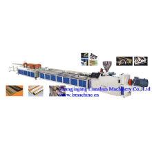 Línea de producción del tablero del travesaño de la ventana del PVC del CE / SGS / ISO9001