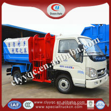 FORLAND 3m3 garbage truck,Small garbage truck,Recycling garbage can cleaning truck