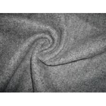 Single Terry Fleece Knitting Fabric Heather Grey