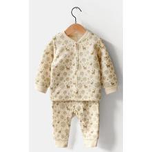 Venda por atacado do terno do corpo do algodão orgânico de inverno em China com certificação de Gots