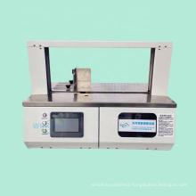 Semi Automatic PP Belt Bundle Hand Banding Box Table Top Paper Packaging Bander Machine