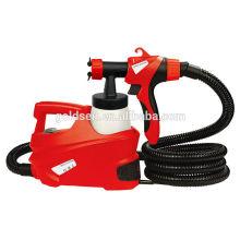 500W HVLP Boden basierte Power Painting Sprayer Portable Elektrische Spray Paint Gun GW8177