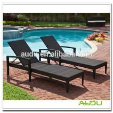 Audu Leisure Rattan Folding Plastic Beach Chair