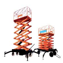 Élévateur mobile de ciseaux, plate-forme de travail aérienne