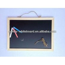 Wooden blackboard,Chalk board black magnetic board