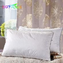 Almohada del hotel / almohada lavable de alta calidad del diseño directo de la fábrica del cuadrado / almohada lavable del hotel de la alta calidad
