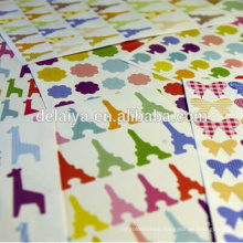 Hand account stickers small diy decorative paper stickers