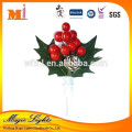 2017 New Wholesale Plastic Christmas Cake Decorations Party Supplies From China