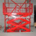 стационарный гидравлический лифта scissor таблицы подъема