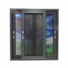 Fenêtres coulissantes en aluminium à double vitrage de haute qualité