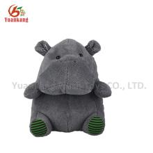 20 cm tamanho pequeno azul recheado hipopótamo animal recheado brinquedo