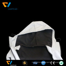 China dongguan new design hi vis fashionable best reflective jacket for safety