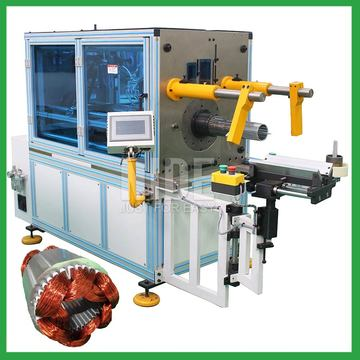 Auto motor stator coil inserter winding insertion machine