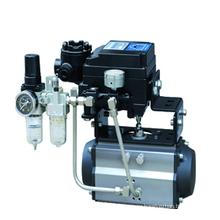 Пневматический поворотный привод на 90 градусов с позиционированием клапана (YCTAT)