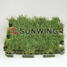 Блокируя искусственная трава мат головоломки плитка для напольная декоративной поделки