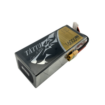 6S 16000mAh 15C Tattu Lithium Polymer Battery
