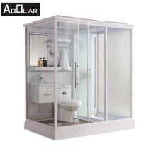 Aokeliya all in one prefab bathroom modular square bathroom pods prefabricated modular complete