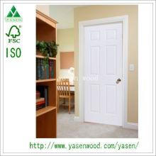 White Paint MDF Europe Style Wooden Door