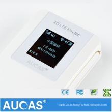 Routeur adsl sans fil avec batterie 3g avec routeur de point d'accès sim imei change le routeur wifi android 3g