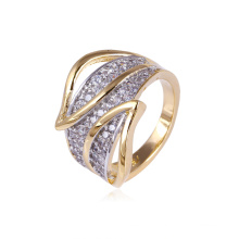 Xuping Women Luxury Multicolor Ring with CZ Stone