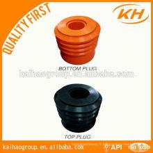 Bouchon de cimentage inférieur et supérieur / bouchon de ciment API / bouchon de ciment de forage