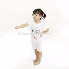 2017 детская одежда летняя оптом с коротким рукавом детская одежда комбинезон органического хлопка