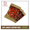 Различные типы мода гофрированной бумаги овощей и фруктов коробки для транспортировки