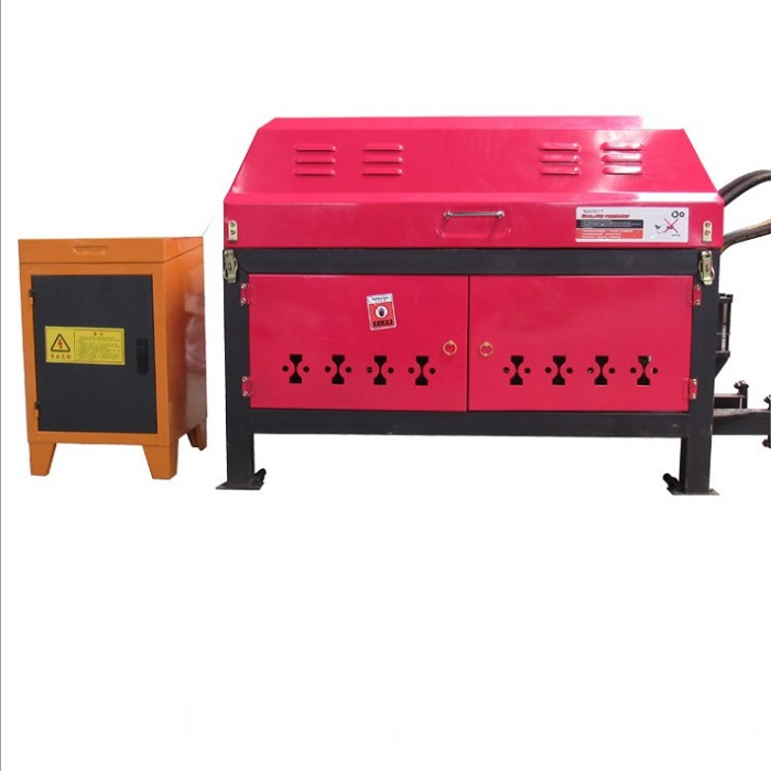 Construction site steel straightening and cutting machine steel straightening machine wholesale