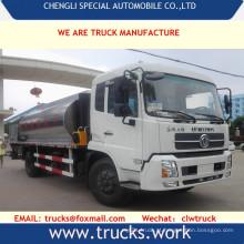 Dongfeng 4x2 15000liters mais novo asfalto OEM transporte de caminhão