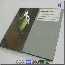 Superficie del espejo Material del panel compuesto de aluminio del ACP