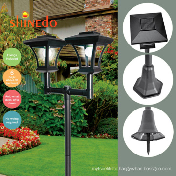 High power housing outdoor park waterproof  led solar garden light