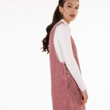 Nuevo vestido de chaleco sin mangas para mujer