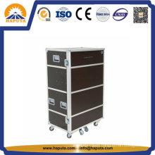 Tool Case Aluminum Instrument Case Flight Case with Wheels