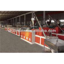 Livraision du bois PVC Composite WPC Machine (PVC/PP/poudre PE + bois)