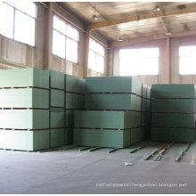 Green Color MDF For moisture resist