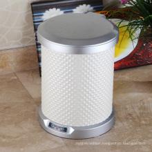 PU Round Aotomatic Sensor Waste Bin for Hotel/Office/Home (C-9LA)