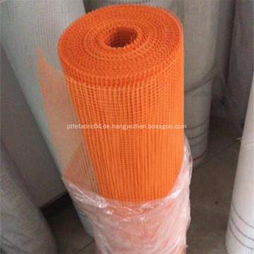 Orange alkalibeständige Fiberglas-Masche für errichtende Wand