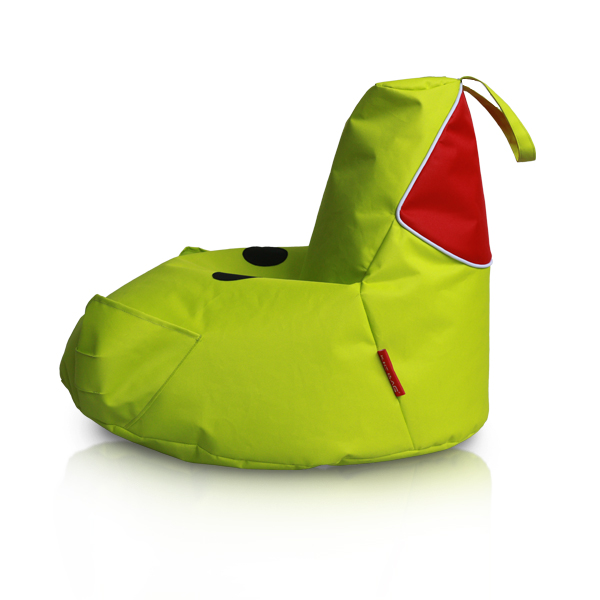 Lime Piggy Bean Bag