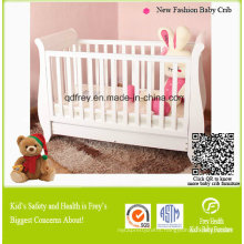 New Fashion Solid Pine Wood Baby Crib/Cot Infant