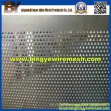 Treillis métallique perforé utilisé dans les faux plafonds d'Anping