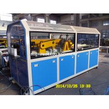 Extracteur de tuyau double en PVC et machine de découpe