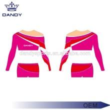 Custom Color Stripes Girls Cheer Costume