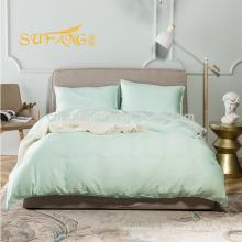 Juego de cama de bambú al por mayor de bambú de Alibaba, ropa de cama del hotel