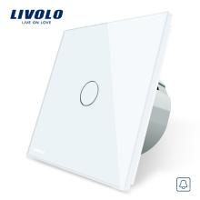 Livolo Norme Européenne VL-C701B-11/12 / 15,110 ~ Interrupteur Tactile Sonnoir À Écran Tactile Avec Un Panneau De Commande