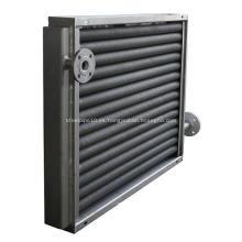 Intercambiador de calor de tubo aletado compuesto de acero y aluminio