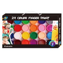 El mejor regalo Pintura no tóxica del dedo para los niños, pintura del dedo de la Eco-calidad