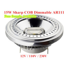 LED luz LED regulable AR111 LED bombilla LED lámpara