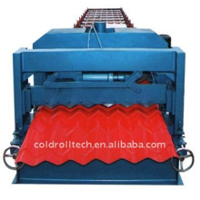 Steel Structure Roof Tile Roll Forming Machine