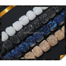 Красивейшее Colorful радужное качество AA естественное Druzy для ювелирных изделий (YAD0102)